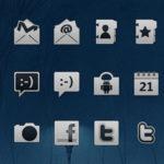 Как изменить иконки меню android